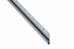 """Сайдинг Планка """"финишная"""", 3660 мм, цвет Светло-серый"""