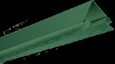 "Планка ""наружный угол"", 3м, цвет Зелёный"
