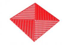 Решётка с дополнительным обрамлением, цвет Красная