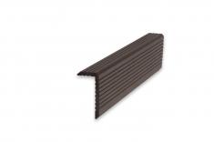 Уголок ДПК Темно-коричневый 35*70*3000